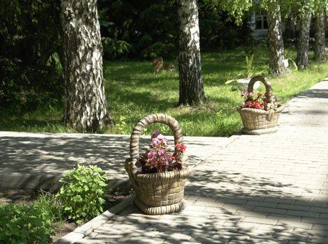 element of landscape gardening scenery