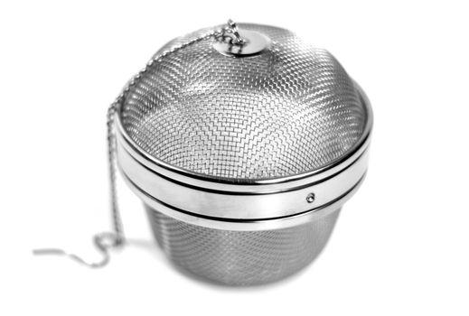 round metal strainer