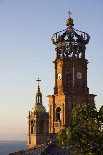 View of Our Lady of Guadalupe Cathedral, Puerto Vallarta, Mexico