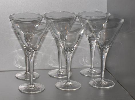Martini glasses resting till summer