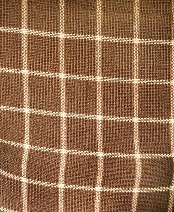 An old plaid couch texture background image.