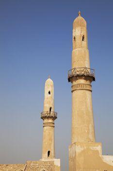 Ancient Khamis Mosque Minarets, Bahrain