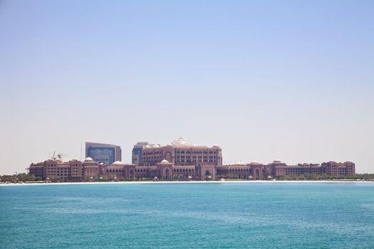 Modern Iconic Building, Abu Dhabi, UAE