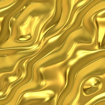 elegant golden satin or silk background, very smooth and will tile seamlessly as a pattern