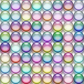 translucent marbles