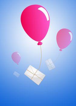 Air baloon mailing