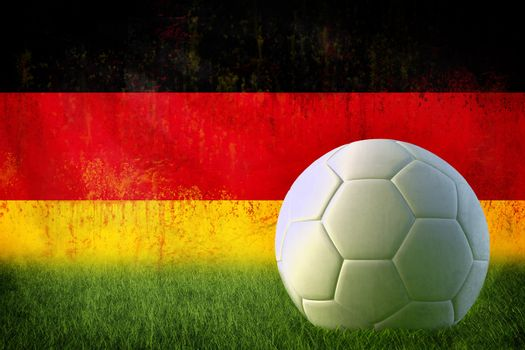 Germany soccer grunge wall