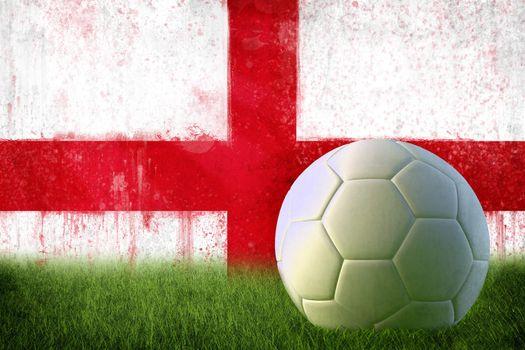 England soccer grunge wall