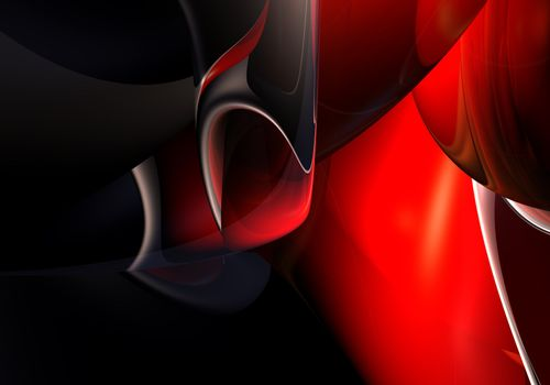 A Study of Abstract Form & Colors.