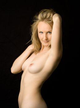 charming nude