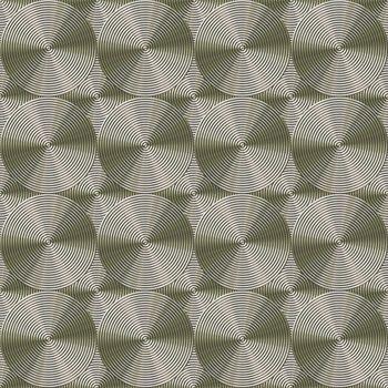 golden metallic rolls background, tiles seamless as a pattern