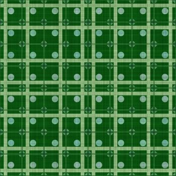 green dotted fabric, tiles seamless as a pattern