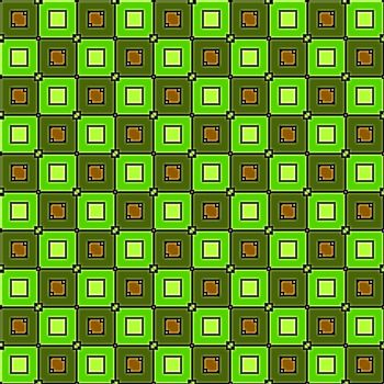 green squares fabric, tiles seamless as a pattern