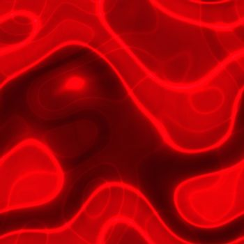 abstract neon red background over black, seamlessly tillable as a pattern
