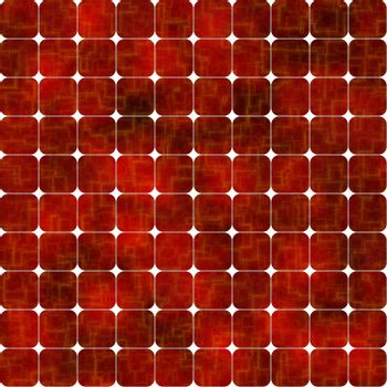 red solar cells background, tiles seamlessly as a pattern