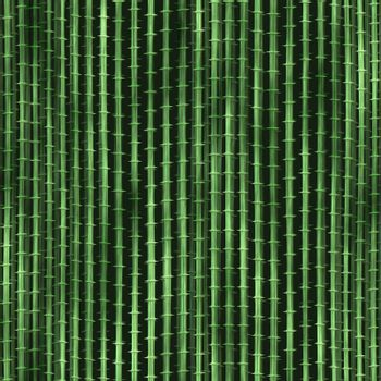 green, smooth bamboo background with small stalks, tiles seamlessly