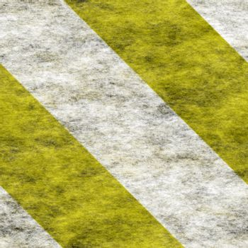 bold diagonal white and yellow warning / hazard stripes background, will tile seamlessly as a pattern
