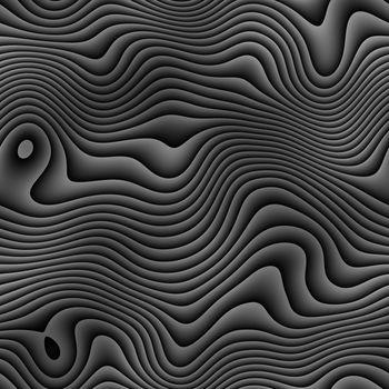 black and white retro zebra style pattern, tiles seamlessly