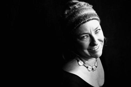 Woman in a Knit Cap