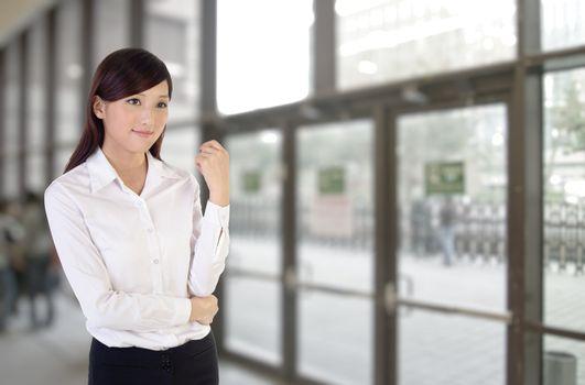 Business woman indoor