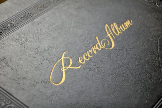 front cover for old record album