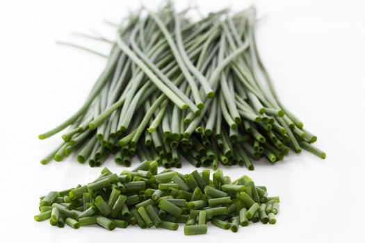 cutted chives deep