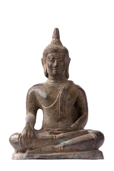 Bronze Buddha frontal
