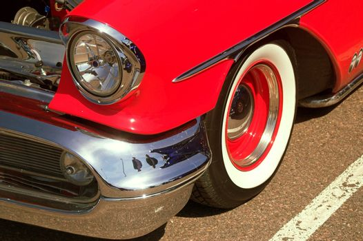Classic 50s Oldsmobile