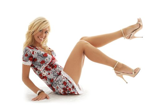 classical pin-up blond #2
