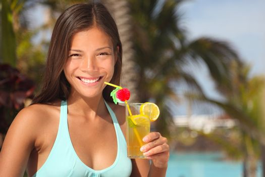 Resort woman