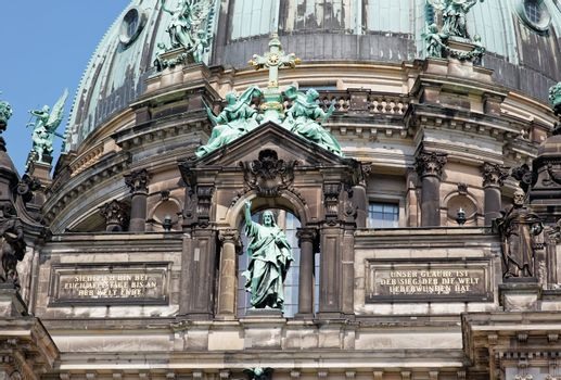 the Berliner Dom in central Berlin Germany
