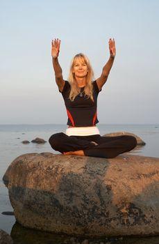 meditation at the seashore #2
