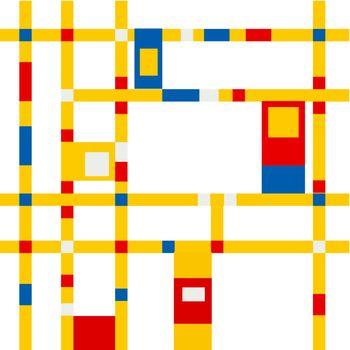 mondrian grid inspiration