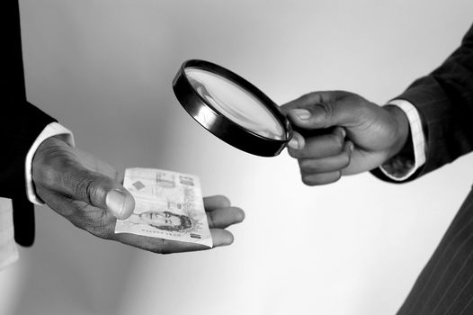 Money Inspection