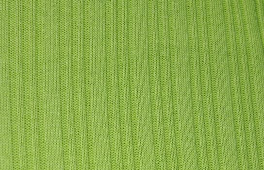closeup view of a lime green knitted design