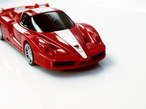 sport red car
