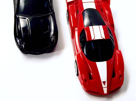two fast cars
