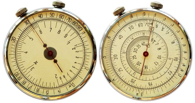 Mechanical measuriment - two sides