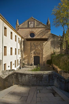 access to monastery at segovia