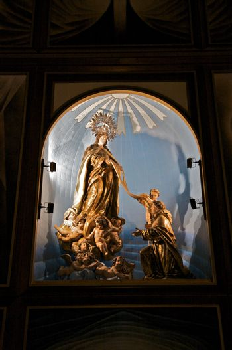 sacred figures in spanish church
