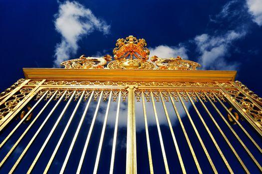 Versailles, golden gates