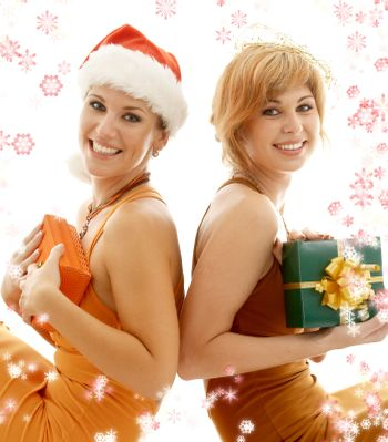 christmas party girls