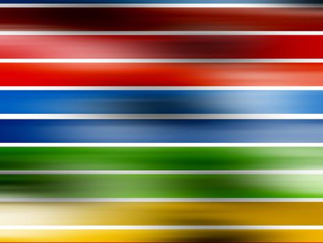 lines with effect, red, blue, yellow and green colors