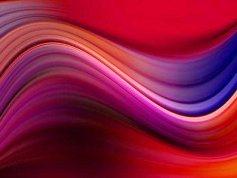 blue, fuchsia and red background. dynamic waves