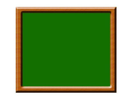 blackboard illustration on white background. isolated object