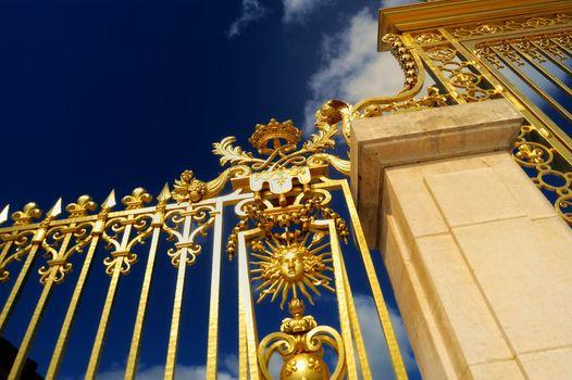 Detail of Versailles Gates