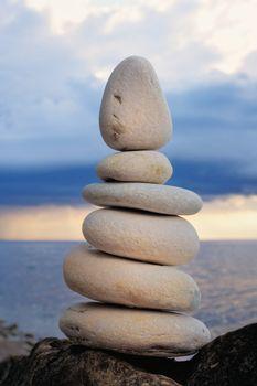 Plain stones