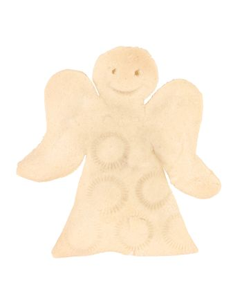 Angel - cookie made by me isolated on white