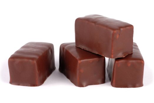 Isolated chocolates