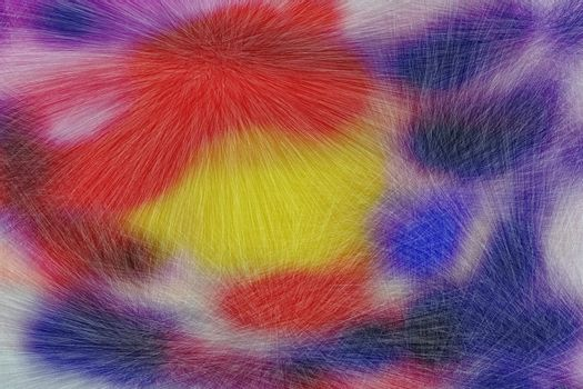 colorful furry texture